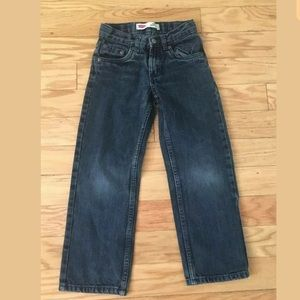 Boys LEVIS 100% Cotton 505 Regular Jeans